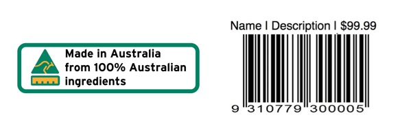 Pre-Printed Barcode Labels